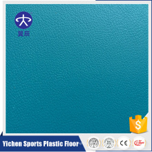 Epsom pattern blue color indoor office PVC floor