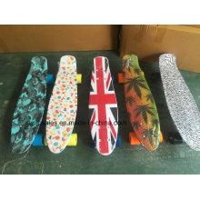 ABS Plastic Penny Skateboard Fish Mini Skateboard (ET-PSY001)