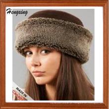 Chapéus do inverno da forma