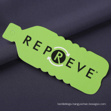 Sustainable REPREVE recycled fabric for t-shirt yoga legging sport top, RPET polyester fabric made from recycled plastic bottles