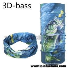 2016 Novo Design 3 D Bass Fishing Scarf