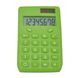 8 Digit Mini Colorful Electronic Pocket Calculator