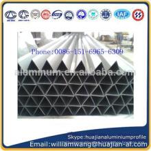 Perfil de aluminio del triángulo del precio bajo de China