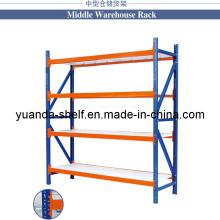 Medium Capacity 300 Kg Warehouse Storage Display Steel Rack