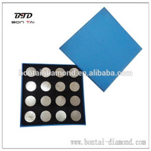 Round diamond grinding segments