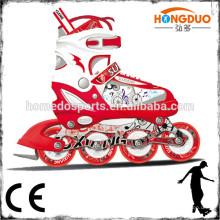Sapatilhas retrácteis de rolo de roda de 4 rodas