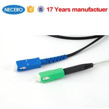NECERO SC-SC Dúplex multimodo 62.5 / 125 3.0 mm UPC Tipo de pulido Cordón de remiendo de 1 m