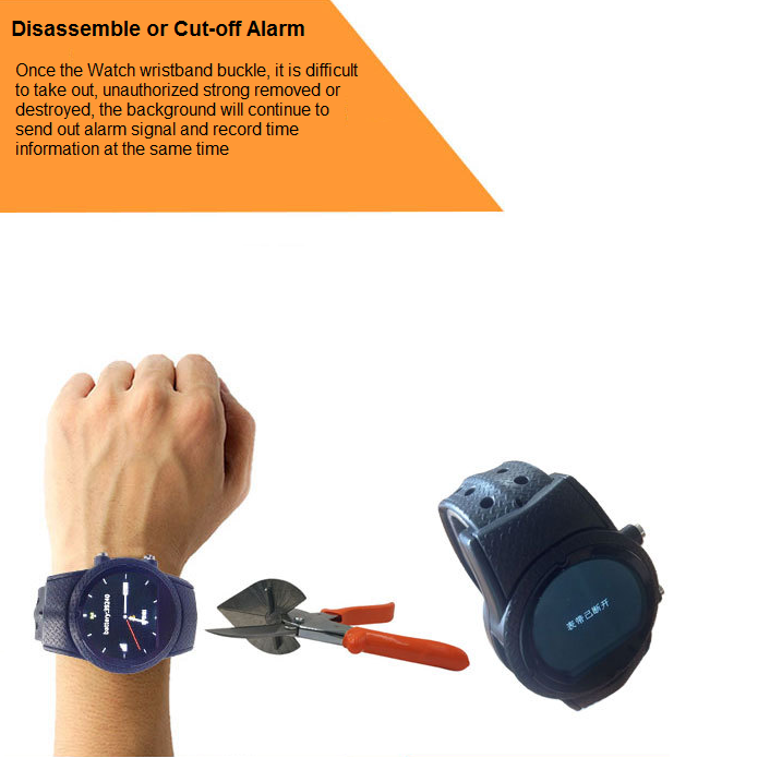 GPS Watch for Elder Alzheimer Patients