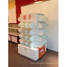 Soporte de exhibición del caramelo del piso / estante del caramelo / caja del caramelo (YD-CS001)