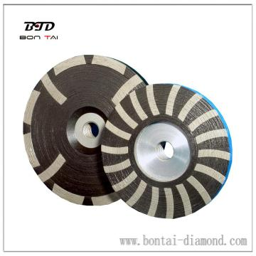 Resin Polishing wheel for Polishing Stone, Comes in Yellow and White