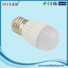 2700-6500k 300degree 5w led bulb E27 led for housing and exibition