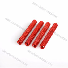 M3 Customized Red Aluminum Textured/Knurled Spacer for Drone/ UAV/FPV
