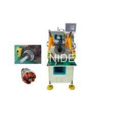 Machine d'insertion automatique de bobine de stator à moteur générateur