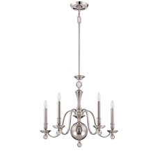 New Design Interior Chandelier Lighting with Clear Glass for Home (SL2262-5)