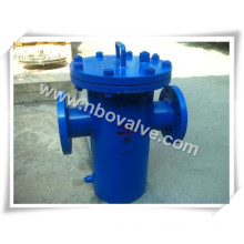 "Cast Steel Flanged Simplex Basket Strainer (8""-150LB)"