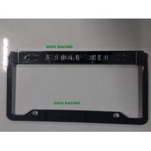Пользовательские рамки для платформ с ABS 312X160mm Хромированный держатель пластины
