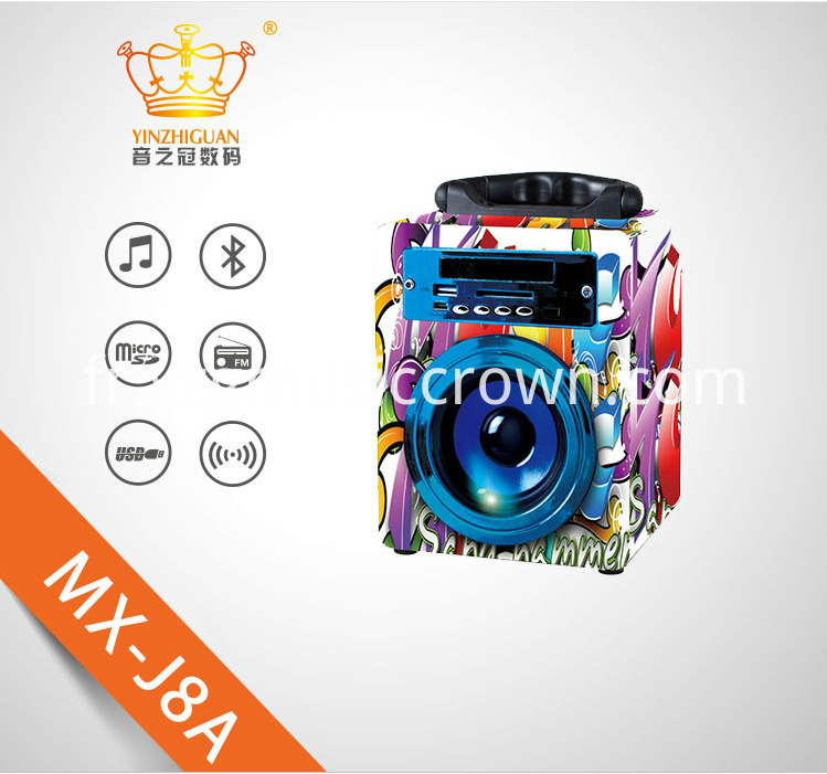 Promotion Bluetooth Speakers With USB TF FM
