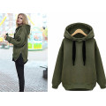 Outono Winter Women Casual Jacket Thick Warm Pullover Hoodies