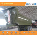 Chinese best quality 3 axle dump semi trailer