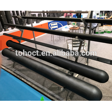 One end closed ceramic tube black silicon carbide RBSIC ceramic pipe