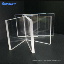 5 mm Frosted clear color advertising  matte cast acrylic sheet