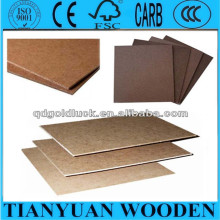 Dark Brown 2.5mm/2.7mm/3.0mm Hardboard 4X8 with Smooth Surface and Rough Back