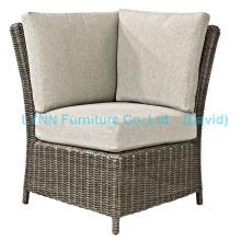 Canapé de jardim Rattan Corner Sofa
