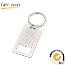 Llavero de alta calidad disponible del abrebotellas de la aleación del cinc de la calidad del OEM (Y03082)