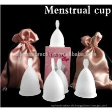 Lady Peroid Tassen Frauen Menstruation Tassen Menstruationstasse medizinische Silikon