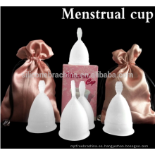 Lady Peroid Cups Women menstruación tazas menstrual taza de silicona médica