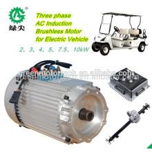 Bürstenloser Nabenmotor der niedrigen Geschwindigkeit 5Kw Electric Car