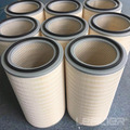 Dust collector fume extractor filter cartridge