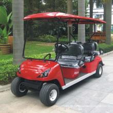 China Soem fertigen 6 Sitze elektrischen Golfwagen Dg-C4 + 2 mit CER besonders an