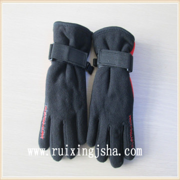 Best selling product driver boys black gloves with Buckle