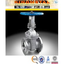 Precio de la válvula de compuerta de acero inoxidable ANSI Dn150 Pn16 CF8m