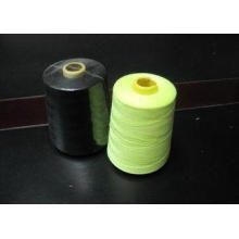 Knitting Fabric 100% Polyester Sewing Thread , Black 60s Ri