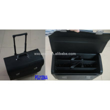 waterproof rolling tool bag with built-out extendable handle&2 tool store systems inside