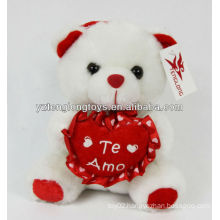 Valentine gifts sweet heart plush bear toy