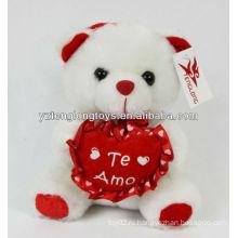 Валентина подарки сладкие сердца плюшевые игрушки медведь