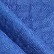 Oxford 420d Crinkle Tissu en nylon lavé en pierre avec PU / PVC (XQ-153)