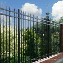 clôture décorative en aluminium panneau clôture électrique pour animaux de compagnie de qualité