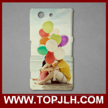 Sublimación 3D de plástico caso de teléfono móvil para Sony Mini Xperia Z4