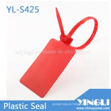 Big Label Plastic Seal Tags im Logistikversand
