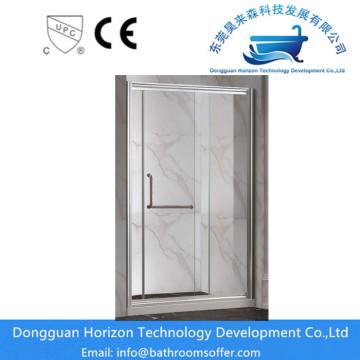 Corner entry shower enclosure quadrant shower panel
