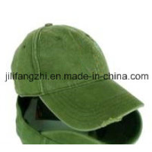 Plain Baseball Cap Blank Hat Solid Color Velcro Adjustable