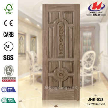 Ten Panel  MDF EV Walnut Complex Door Skin