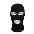 Military Airsoft Hunting Tactical Head Hood 3 Hole Head Face Mask Protector