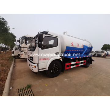 Dongfeng 4m3 vaccum suction function truck