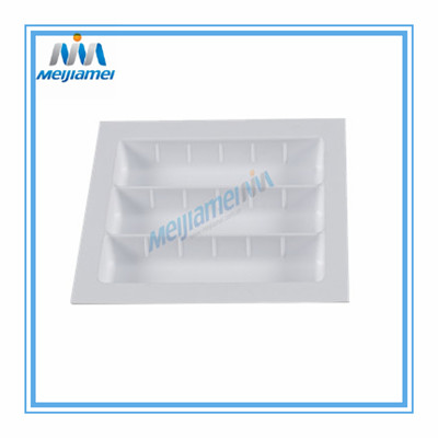 Perlengkapan Plastik Cutlery Trays Kitchen Drawers 450 mm