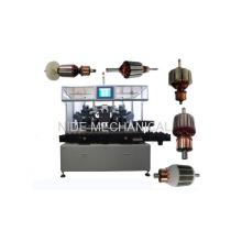 Línea de producción automática Máquina de corrección de balanceo de rotor